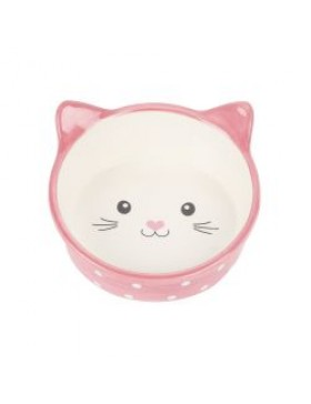 Happy Pet Polka Dot Cat Bowl