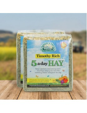 Natures Own Timothy Rich 5 A Day Hay