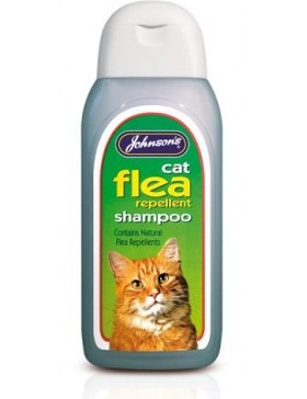 Johnsons Cat Flea Cleanse Shampoo