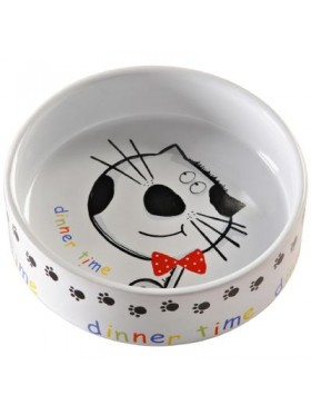 Mason Cash Dinner Time Cat Bowl