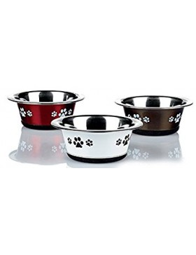 Posh Paws Stainless Steel Cat Dish