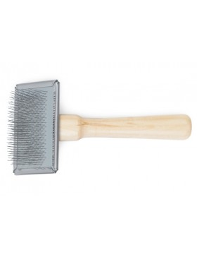 Ancol Wooden Handle Slicker Brush