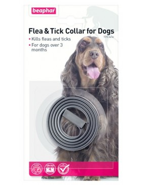 Beaphar Dog Flea Collar Plastic