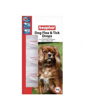 Beaphar Small Dog Flea Drops 12 Week