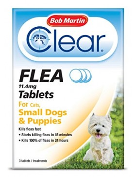 Bob Martin Clear Flea Tablets Small Dog