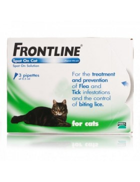 FRONTLINE Spot On Cat - 3 pipettes
