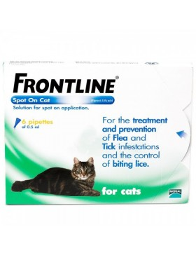 FRONTLINE Spot On Cat - 6 pipettes