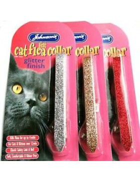 Johnsons Cat Flea Collar Glitter