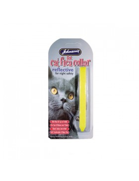 Johnsons Cat Flea Collar Reflective
