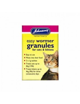 Johnsons Cat/Kitten Easy Wormer Granules