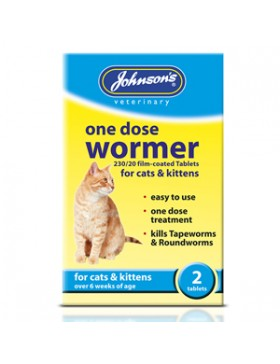 Johnsons One Dose Wormer Cat
