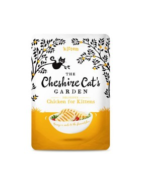 The Cheshire Cat's Garden Kitten Chicken
