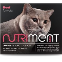 Nutriment cat beef formula - adult