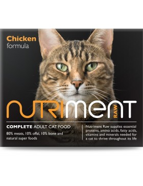 Nutriment cat chicken formula - adult