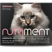 Nutriment cat salmon formula - adult