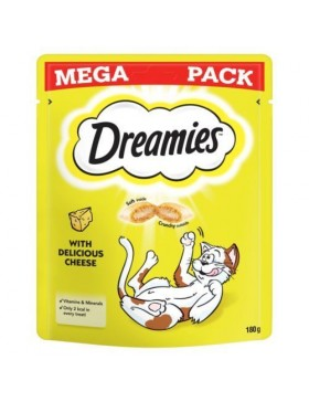 Dreamies Cat Treats with Delicious Cheese Mega Pack
