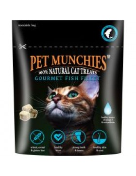 Pet Munchies Gourmet Fish Fillet for Cats, 10g