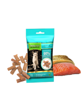 Real Meaty Treats with Salmon and Trout 60g