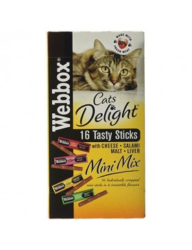 Webbox Cat Stick Mini Assorted