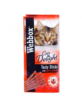 Webbox Cats Delight Beef & Rabbit