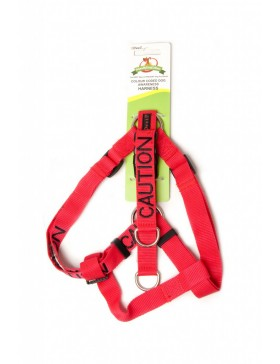 Caution Dog Strap Harness