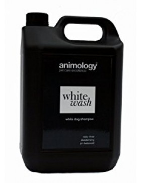 Animology White Wash Shampoo, 5ltr