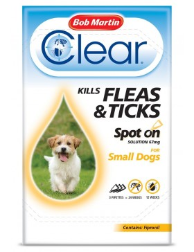 Bob Martin Clear All in One Wormer Tablets - Small Dog