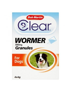 Bob Martin Clear Wormer Granules -Dog