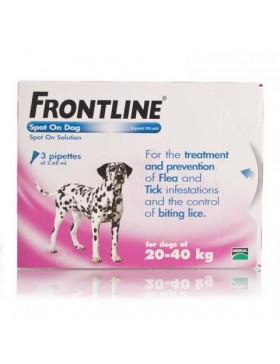 FRONTLINE Spot On Dog Large - 3 pipettes