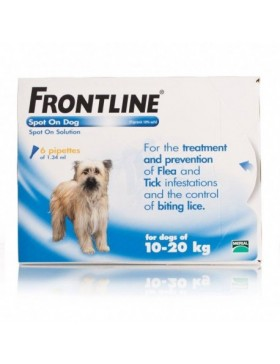 FRONTLINE Spot On Dog Medium - 3 pipettes