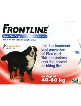 FRONTLINE Spot On Dog XLarge - 6 pipettes