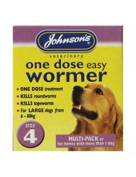 Johnsons One Dose Wormer