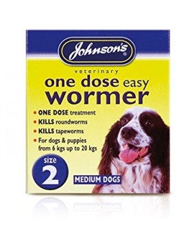 Product Details Johnsons One Dose Wormer