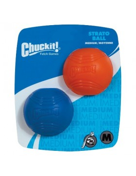 Chuckit Strato Strato Ball Medium (2Pk)