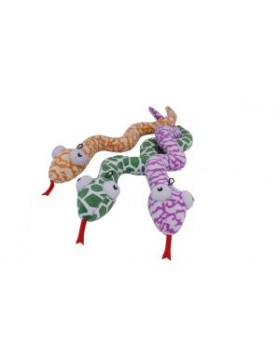Happy Pet Snake Rattler Assorted Colours