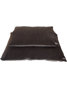 Hem & Boo Cloud Fleece Duvet Dog Bed Brown