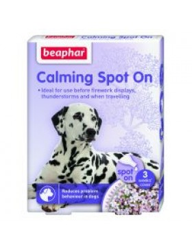 Beaphar Calming Spot-On for Dogs, 3wk