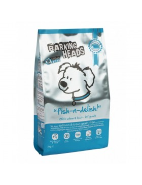 Barking Heads Fish N Delish Grain Free