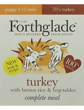 Complete Meal Puppy Turkey with Brown Rice & Vegetables