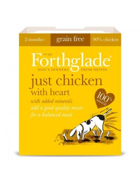 Just Chicken with Heart Grain Free