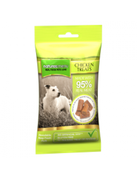Natures Menu Real Meaty Dog Treats with Chicken, 60g