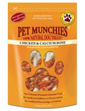 Pet Munchies Chicken & Calcium Bone, 100g