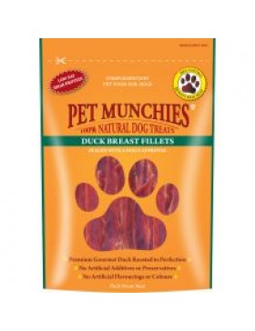 Pet Munchies Duck Breast Fillets, 80g