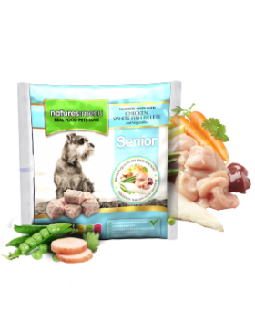 Senior Chicken and Fish Nuggets 1kg
