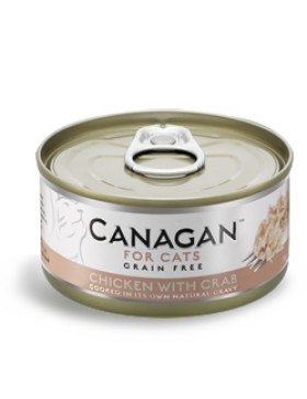 Canagan Wet Food Chicken With Crab
