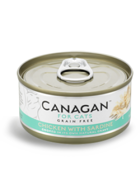 Canagan Wet Food Chicken With Sardine