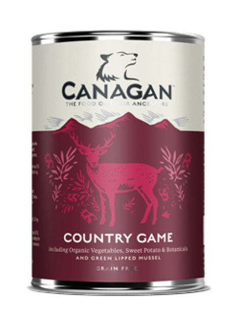 Canagan Wet Food Country Game