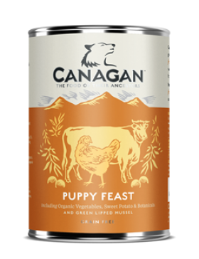 Canagan Wet Food Puppy Feast