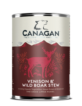 Canagan Wet Food Venison & Wild Boar Stew