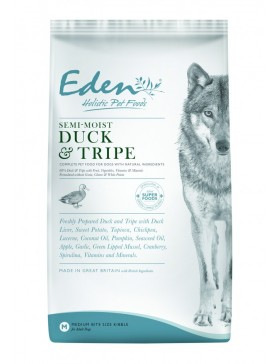 Eden Dog Food Semi-Moist Duck and Tripe